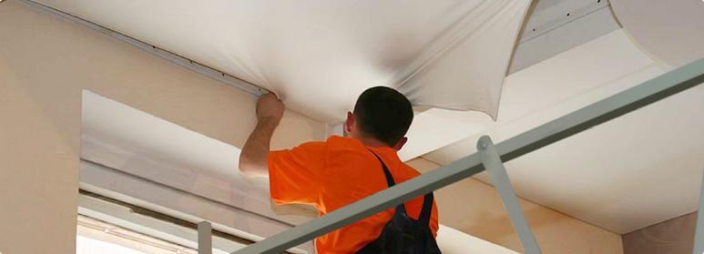 Картинки по запросу ремонт натяжного потолка